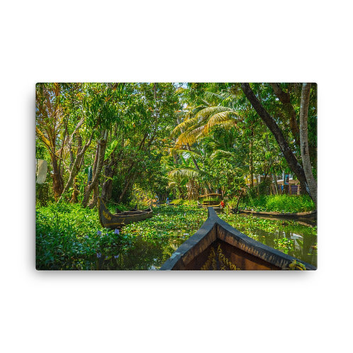 Kerala Backwaters 2 [Canvas Print]