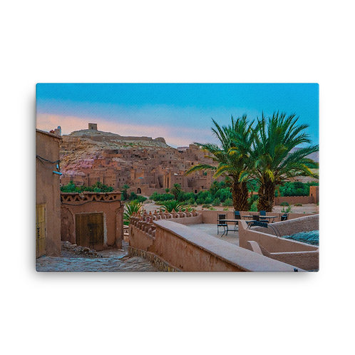 Moroccan Sunset [Canvas Print]