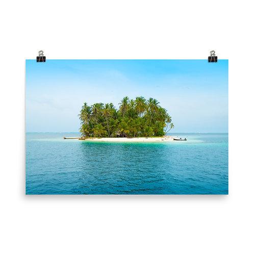 Caribbean Island [Poster]