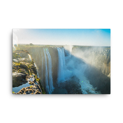 Victoria Falls - Zambia side [Canvas Print]