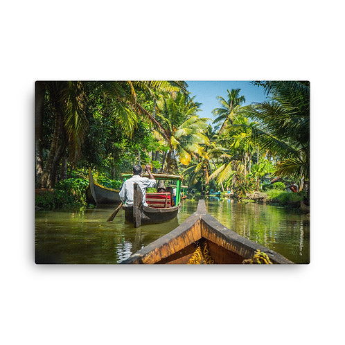 Kerala Backwaters [Canvas Print]