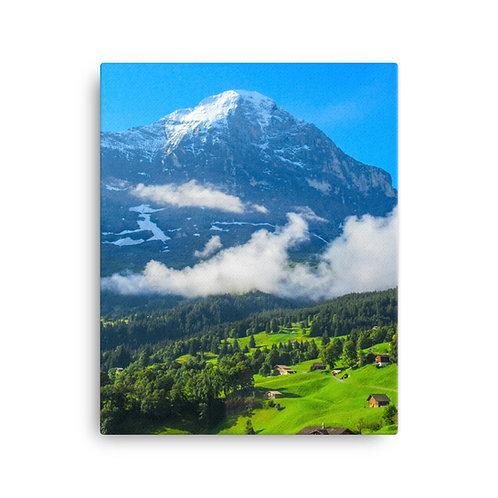 The Eiger [Canvas Print]