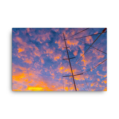 Sailing Sunrise [Canvas Print]