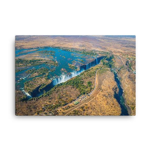 Victoria Falls - Aerial shot  [Canvas Print]