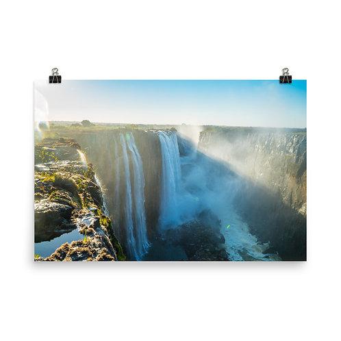 Victoria Falls - Zambia side [Poster]