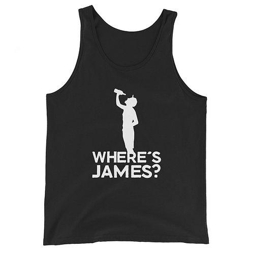 Where's James? Unisex Tank Top