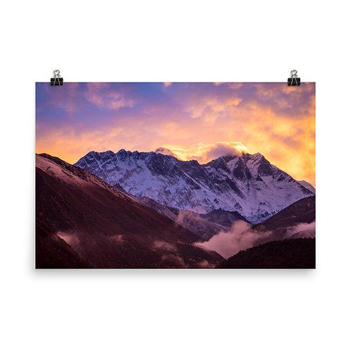 Everest Sunrise [Poster]