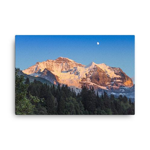 Switzerland Sunset [Canvas Print]