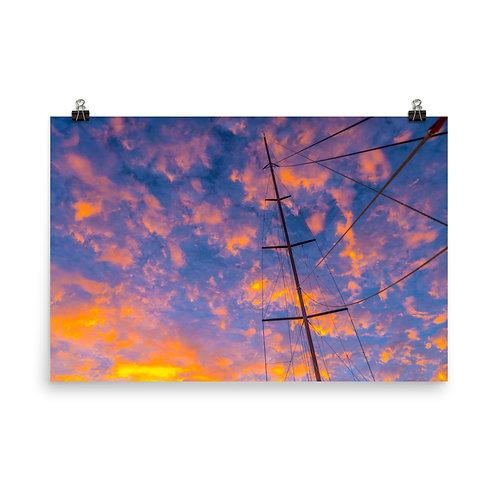 Sailing Sunrise [Poster]