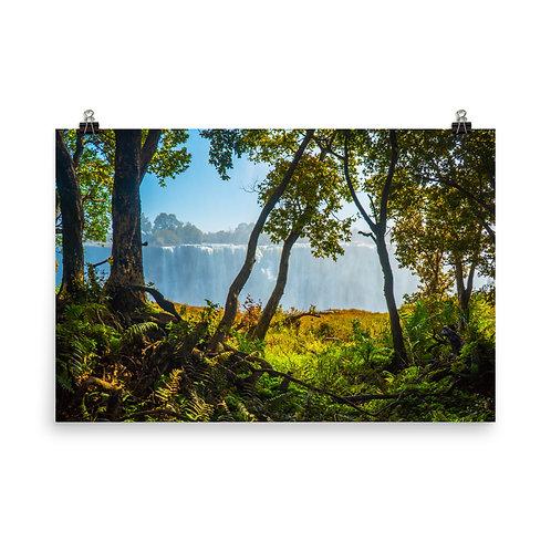 Victoria Falls - Zimbabwe Side [Poster}