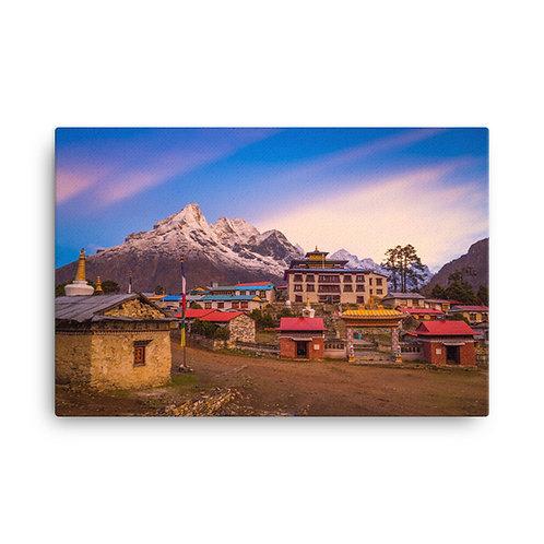 Tengboche, Nepal [Canvas Print]