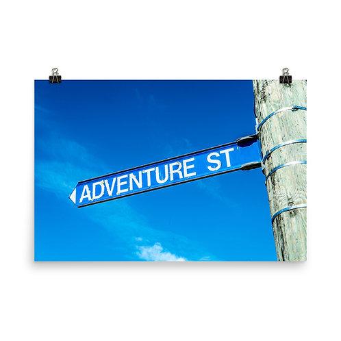 Adventure Street [Poster]