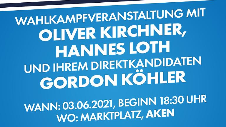 """Wahlkampfveranstaltung """"Die Heimat zählt!"""""""