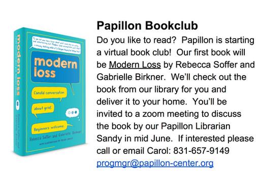 Papillon's New Virtual Book Club