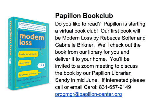 Papillon's New Virtual Book Club