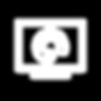 Monitor con paleta de pinturas como ícono representativo de Servicios de Diseño Multimedial