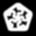 Rompecabezas con forma pentagonal armado como ícono representativo de Soluciones integrales