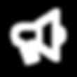Megáfono como ícono de representación del área Marketing