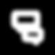 Globos de conversación como ícono representativo de la secció Contacto