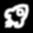 Nave espacial como ícono de representación del área Productos