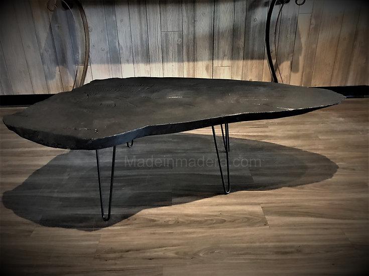 Live Edge Coffee Table,  high dining table, desk, live edge slabs  handmade Rust