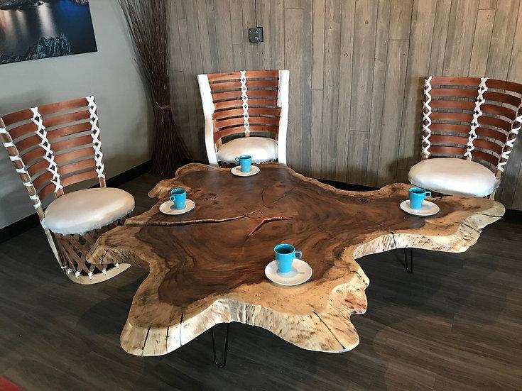 Parota / Guanacaste Live Edge Coffee table, Table