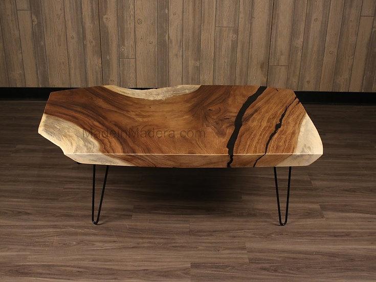 Parota / Guanacaste Live Edge Coffee table, Table Custom, dining table handmade