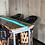 Thumbnail: Live edge Epoxy River Table top, Mesquite Custom Height Dining Table , Live Edge