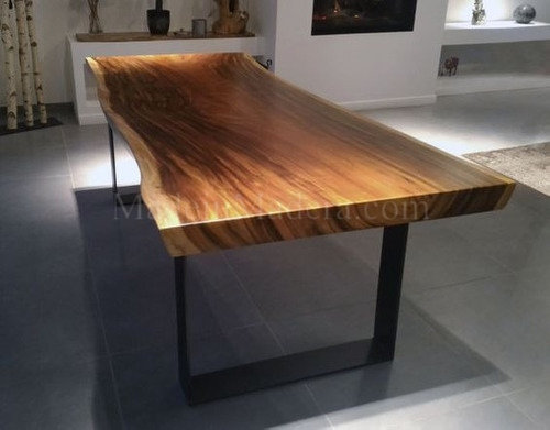 Live edge Dining Table, Epoxy Table top, Custom kitchen island, Live