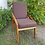 Thumbnail: Modern Chair, Contemporary Chair, Solid  Wood Parota Chair,  Dining Chair, Arm