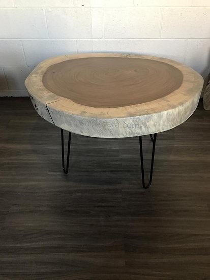Parota/Guanacaste Live Edge Coffee Table, Parota Custom table, live edge slabs