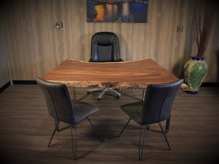 Live edge Desk, Custom Desk, Live Edge Parota  Wood, Table Top, Dining Table Top