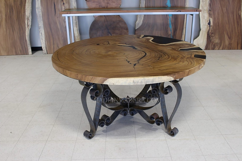 Forged-iron Table Bases, wrought iron  table base, Dining table base,