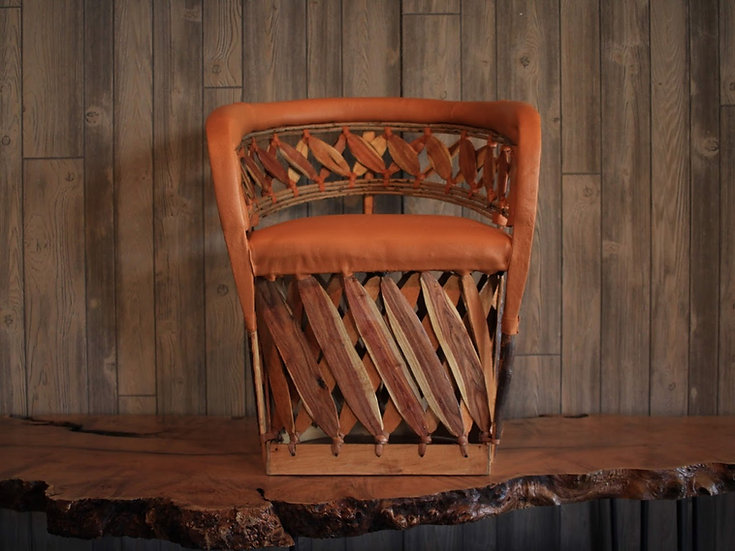 Equipale Leather Chair
