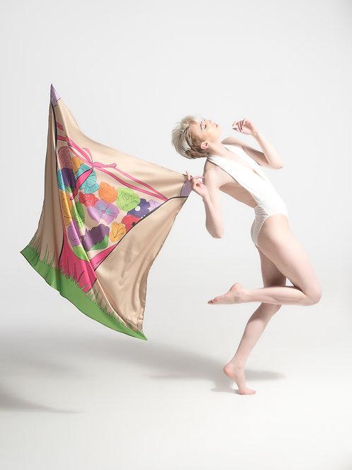 Lady Garden scarf