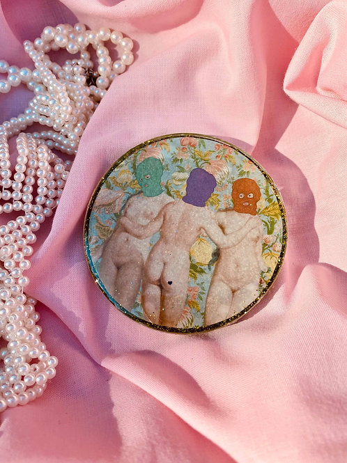 Witches of Beastwick Pocket Mirror