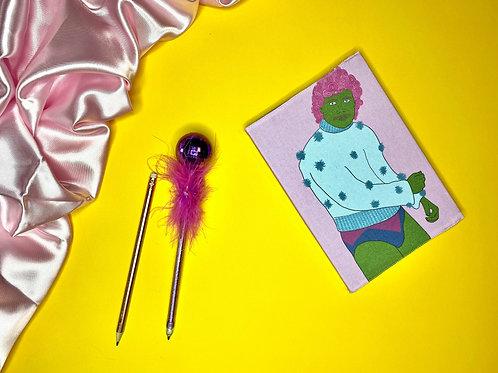Disco Babe a5 Notebook