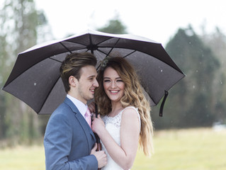 What to do if it rains on your Wedding Day.