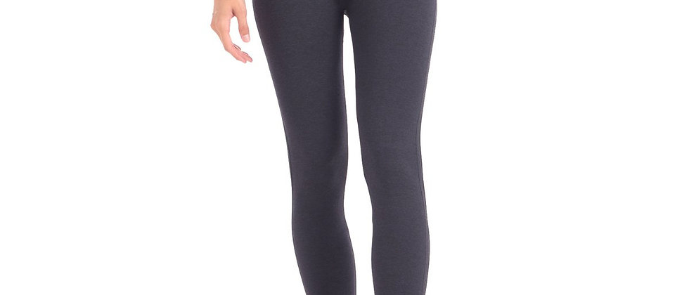 "New Shaping Legging With Extra High 8"" Waistband - Grey"