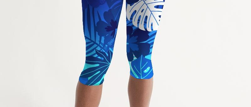 Women's Active Comfort Cayman Mid-Rise Capri Leggings