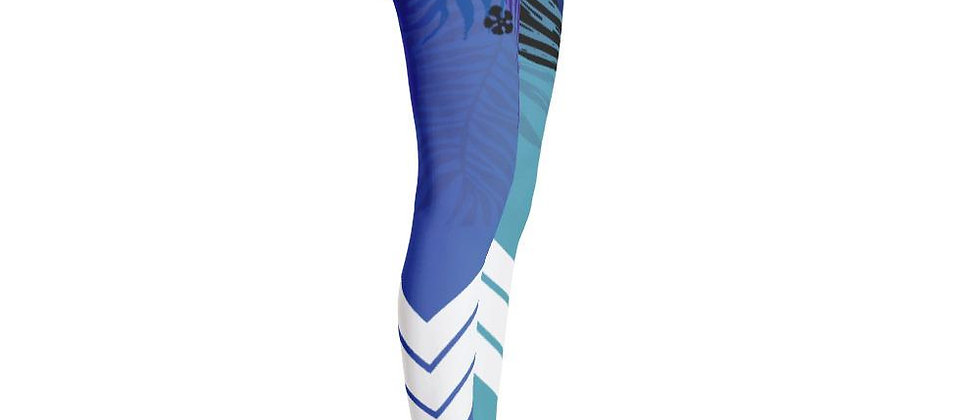 Women's All Day Comfort Blue Venture Pro Wild Life Leggings