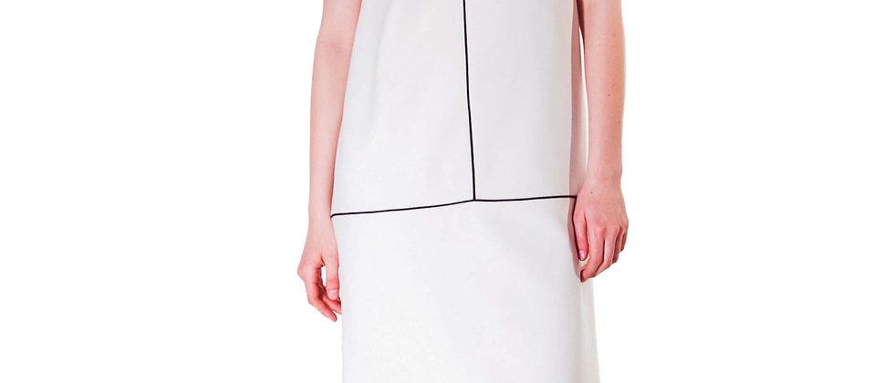 Refined White Dress