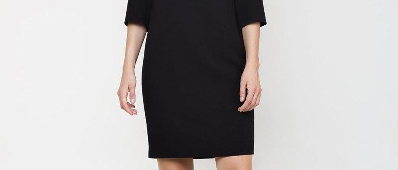 Straight Panel Detail Dress