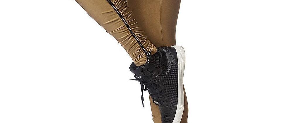 Legging 230 With Zipper Strass Gold