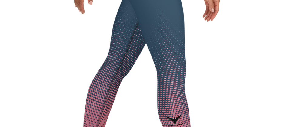 Women's Active Comfort Crossover Hyper Drive Full Length Sport Leggings