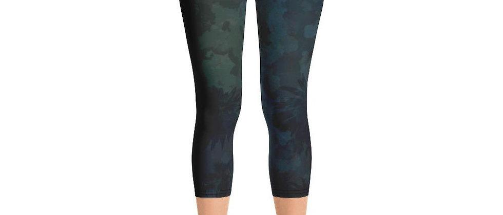 Women's O.U.R. Outdoors Black Camo All Day Comfort Capri Leggings