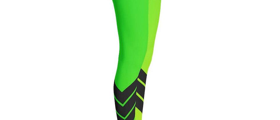 Women's All Day Comfort Neon Venture Pro Stripe Leggings