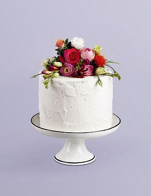 Fleur décorée Gâteau