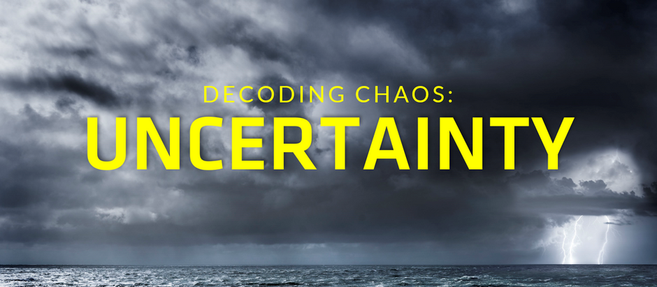 VUCA Decoding Chaos Series: Part 3, Uncertainty