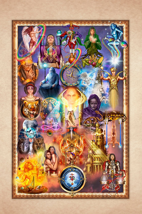 Tarot of Dreams Tapestry S